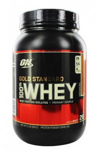 Протеин Optimum Nutrition 100 % Whey protein Gold standard 2 lb (907 г)