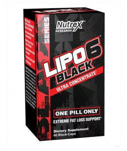 Nutrex INTL Lipo -  6 Black Ultra Concentrate (60 кап)